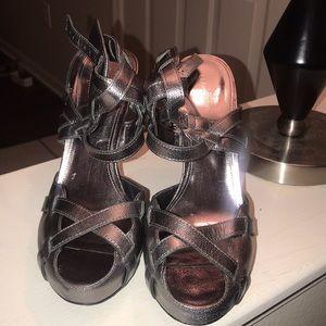 Calvin Klein strappy heels
